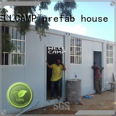 Brand house apartment 20ft detachable container house modular