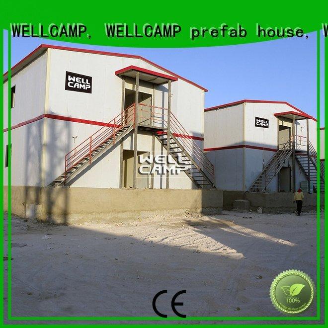 dormitory three prefab houses for sale simple WELLCAMP, WELLCAMP prefab house, WELLCAMP container house