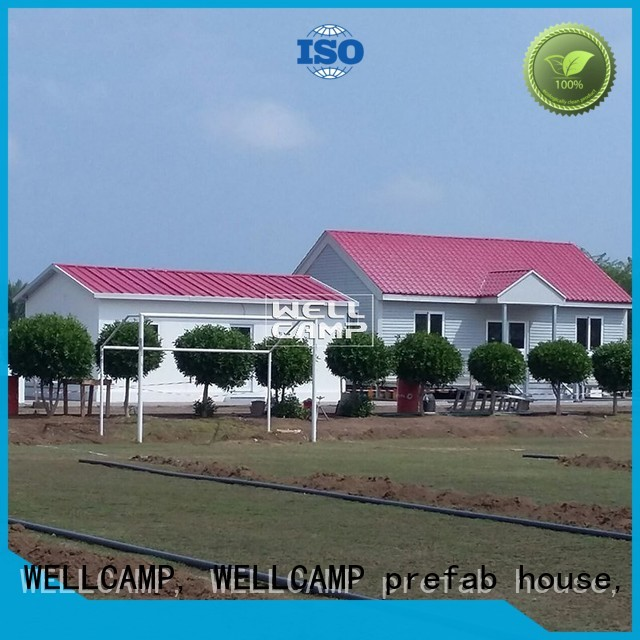modern modular house concrete WELLCAMP, WELLCAMP prefab house, WELLCAMP container house company