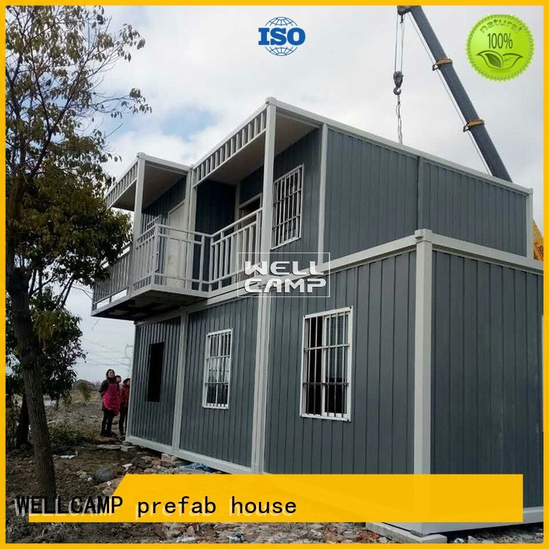 c2 40gp government detachable container house WELLCAMP, WELLCAMP prefab house, WELLCAMP container house