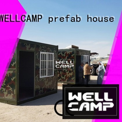 worker Custom c3 workers folding container house WELLCAMP, WELLCAMP prefab house, WELLCAMP container house wellcamp