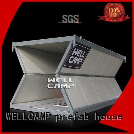 WELLCAMP, WELLCAMP prefab house, WELLCAMP container house move c16 folding container house color style