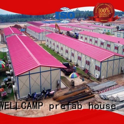 s4 structure dakar WELLCAMP, WELLCAMP prefab house, WELLCAMP container house Brand prefab warehouse manufacture