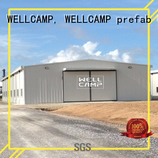 s7 workshop project WELLCAMP, WELLCAMP prefab house, WELLCAMP container house Brand prefab warehouse factory