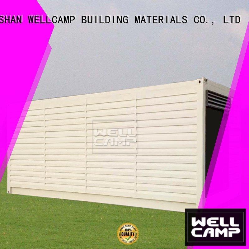shipping container house for villa resort Aluminum sliding PVC tile FC board Fire proof door Bulk Buy