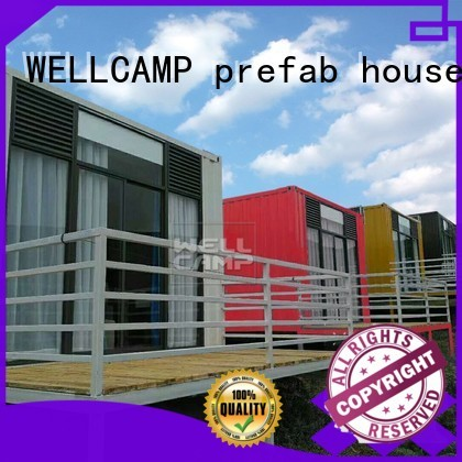 FC board PVC tile Fire proof door OEM modern shipping container house WELLCAMP, WELLCAMP prefab house, WELLCAMP container house