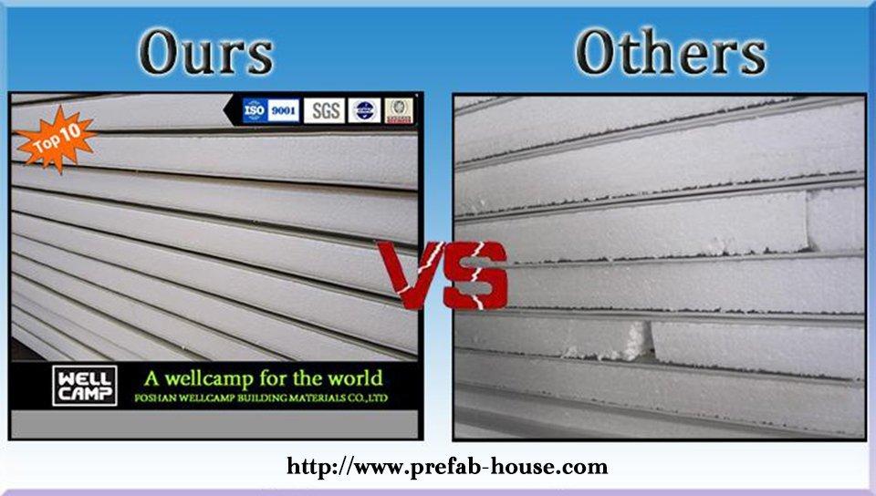 galvanized prefab houses single WELLCAMP, WELLCAMP prefab house, WELLCAMP container house company