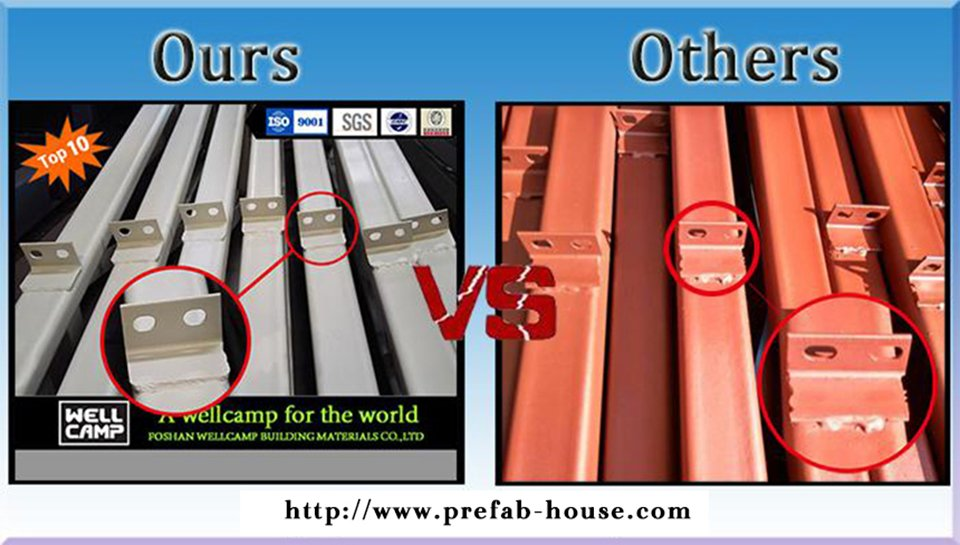 WELLCAMP, WELLCAMP prefab house, WELLCAMP container house Brand modern k15 cost prefab houses