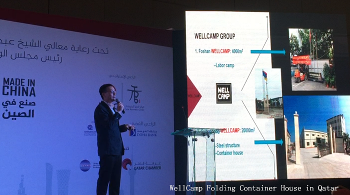 WellCamp Folding Container Houses in Qatar