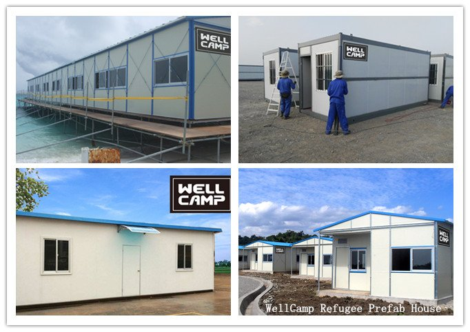 WellCamp Refugee Prefab House