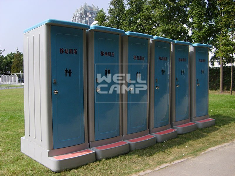 OEM best portable toilet decoration prefabricated luxury portable toilets