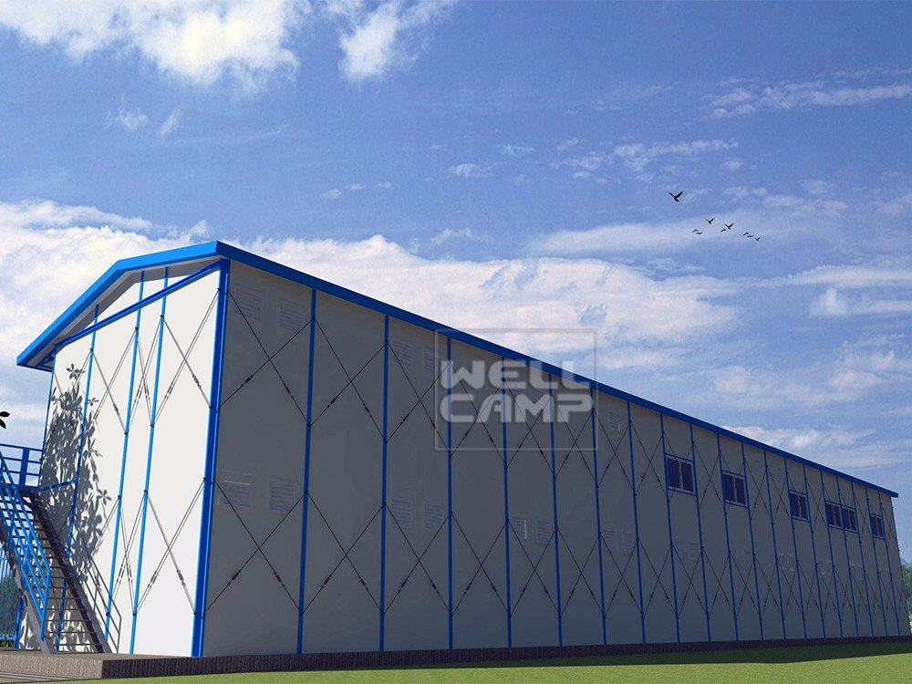 single k2 k16 prefab houses WELLCAMP, WELLCAMP prefab house, WELLCAMP container house