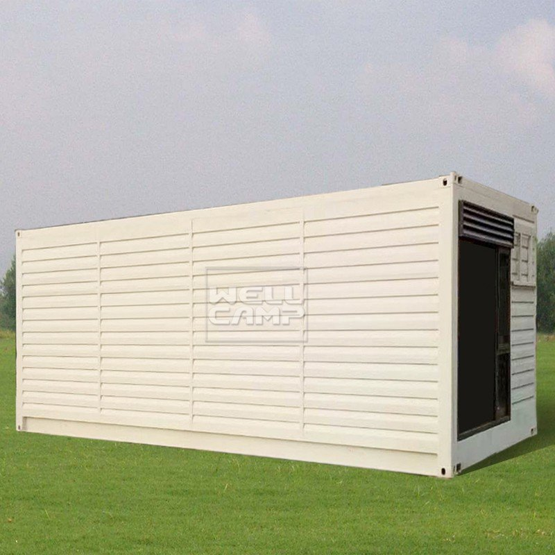 WELLCAMP, WELLCAMP prefab house, WELLCAMP container house Aluminum sliding Fire proof door modern shipping container house