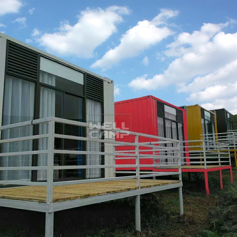 Modern Shipping Container House for Villa Resort, Wellcamp SC-3