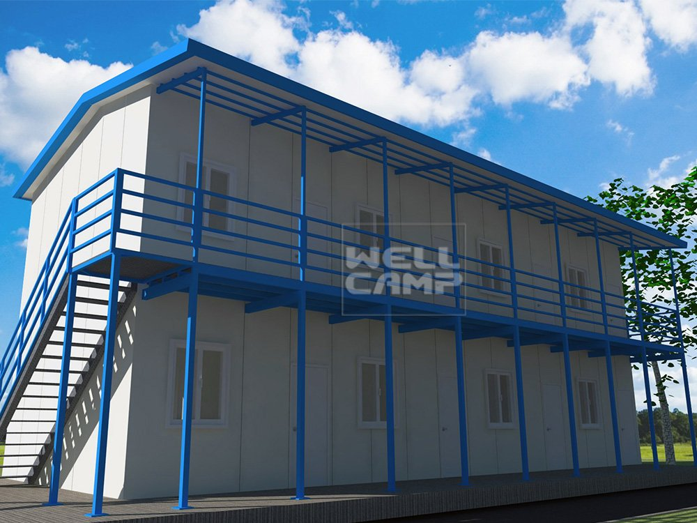 t3 camp three sandwich modular prefabricated house suppliers WELLCAMP, WELLCAMP prefab house, WELLCAMP container house Brand