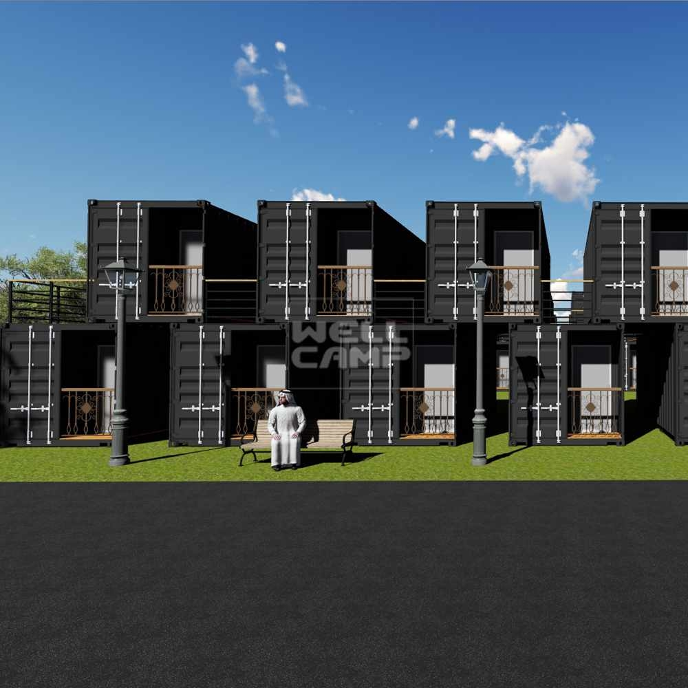 Modern Shipping Container House for hotel, Wellcamp SC-4