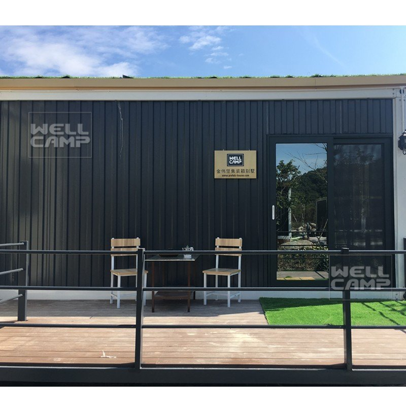 premade cost low luxury living container villa suppliers WELLCAMP, WELLCAMP prefab house, WELLCAMP container house