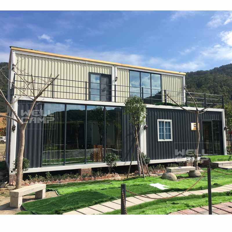 WELLCAMP, WELLCAMP prefab house, WELLCAMP container house Wellcamp Container House for Container Hotel, Wellcamp CV-6 Container Villa image98