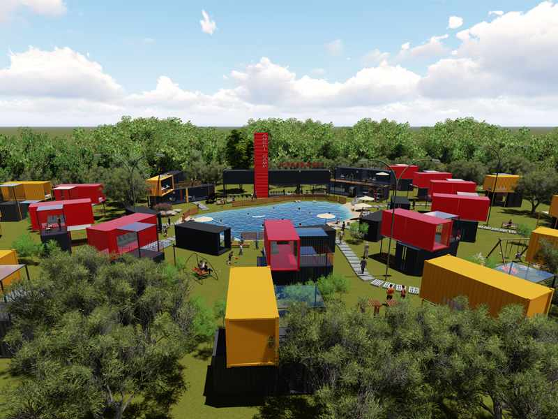 Wellcamp Container Hotel Container Resort