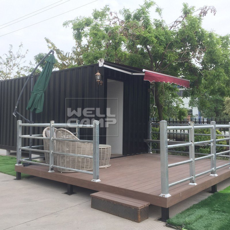 PVC tile modern shipping container houseWELLCAMP, WELLCAMP prefab house, WELLCAMP container house Brand