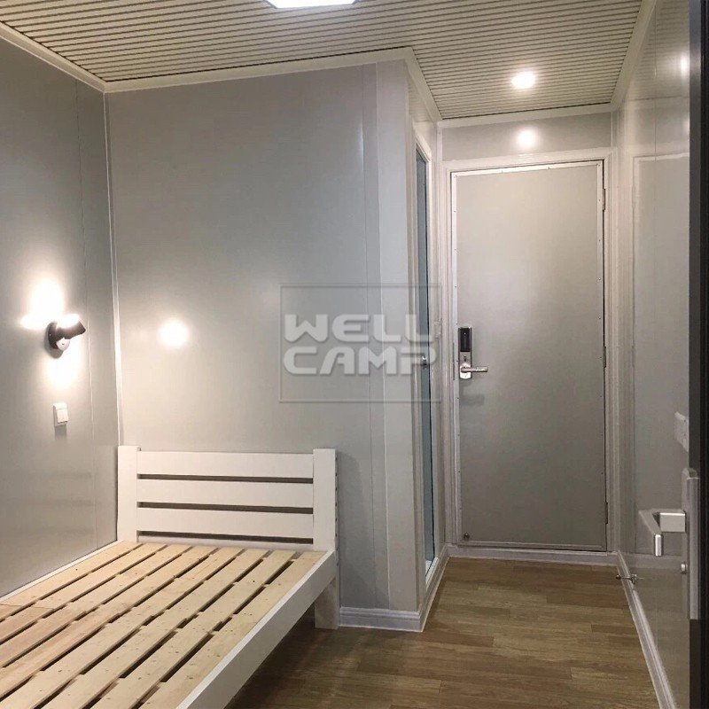 PVC tile Fire proof door modern shipping container house FC board WELLCAMP, WELLCAMP prefab house, WELLCAMP container house