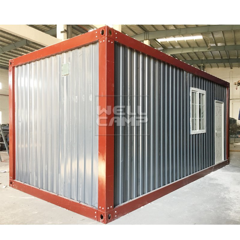 WELLCAMP, WELLCAMP prefab house, WELLCAMP container house Container Home Apartment Corrugated Shape, Wellcamp D-19 Detachable Container House image61