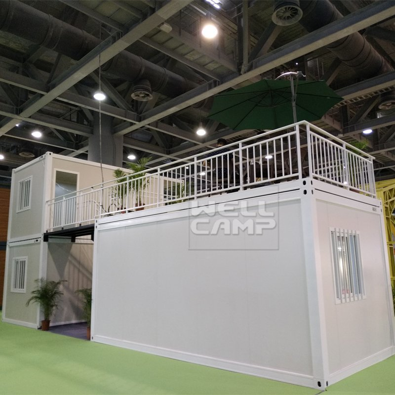 Newest Two Floor Flat Pack Container House, Wellcamp FL-01