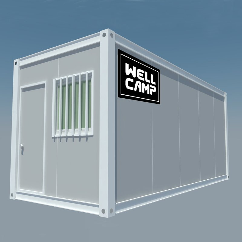 Completed Roof and Floor Flat Pack Container House, Wellcamp FL-04