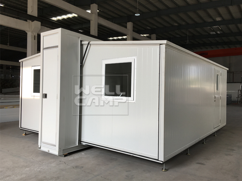 Wellcamp 2018 New Expandable Container House