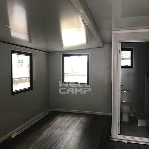 WELLCAMP, WELLCAMP prefab house, WELLCAMP container house Brand expandable container house supplier