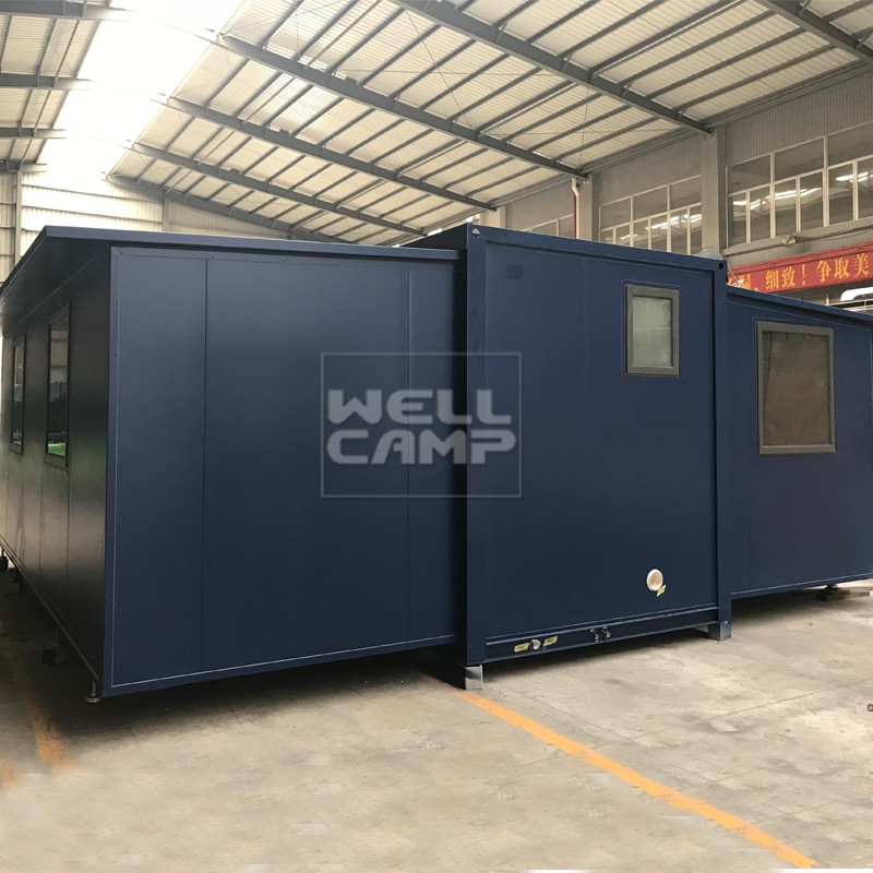 WELLCAMP, WELLCAMP prefab house, WELLCAMP container house Brand expandable container house supplier