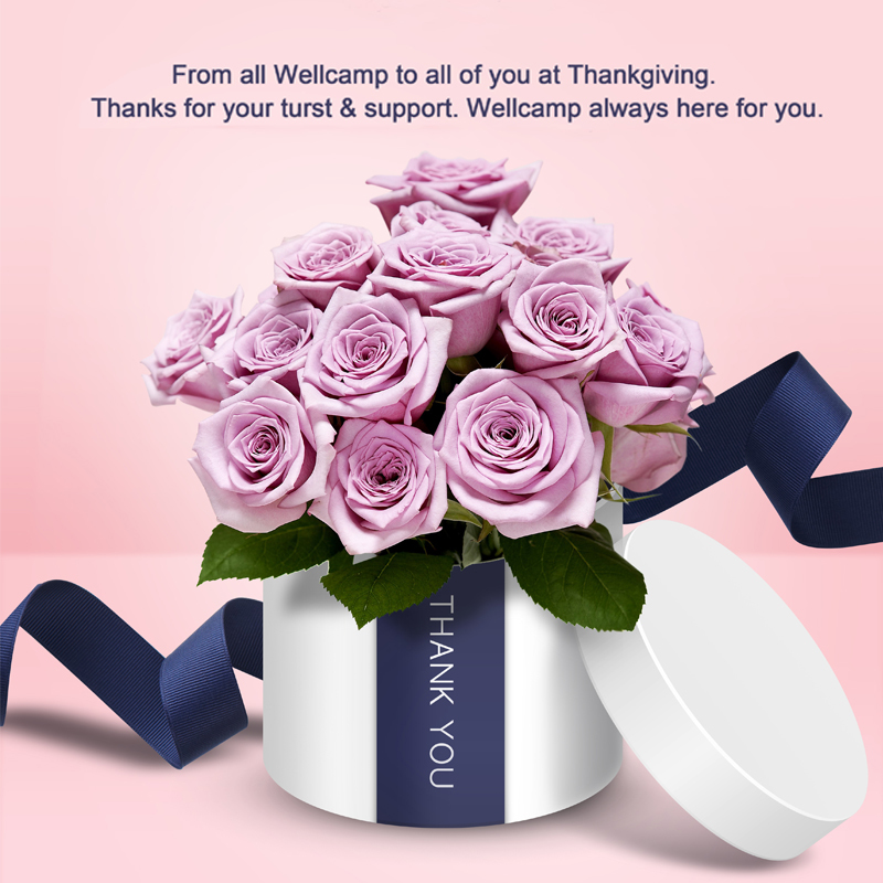 Thanks for you support and trust in Thanksgiving day.