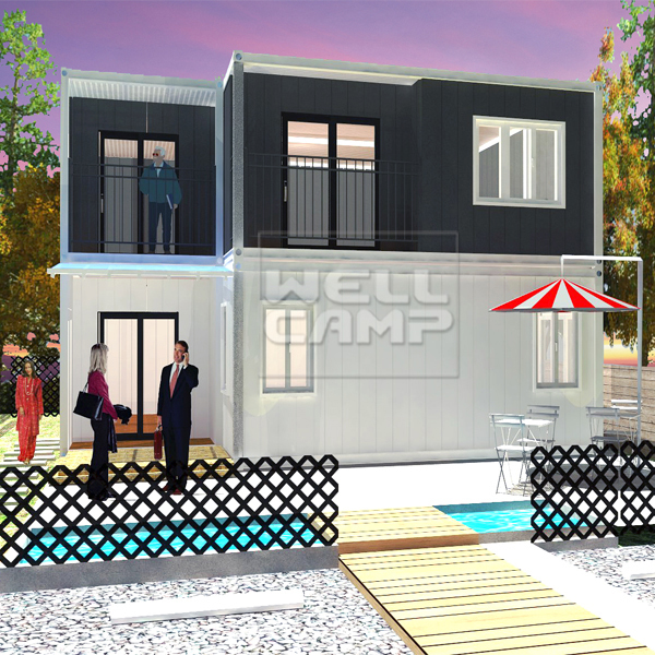 2 Story Modern Manufactured Home Models, Wellcamp-CV08