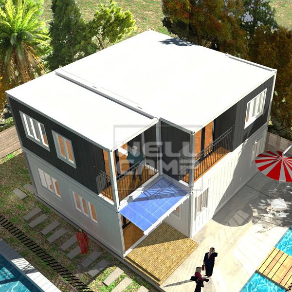 2 Story Modern Manufactured Home Models, Wellcamp-CV08