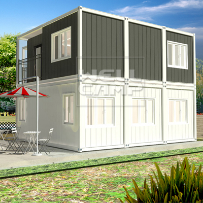 house customized light steel villa folding c2 WELLCAMP, WELLCAMP prefab house, WELLCAMP container house Brand