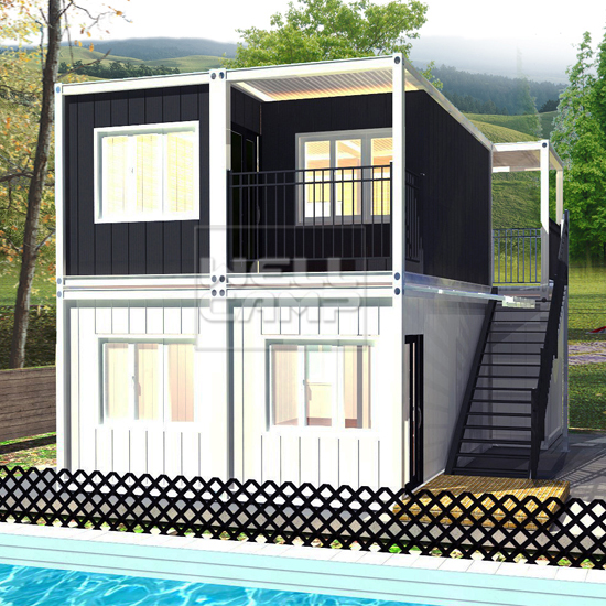 WELLCAMP, WELLCAMP prefab house, WELLCAMP container house-Luxury Living Container Villa Suppliers |