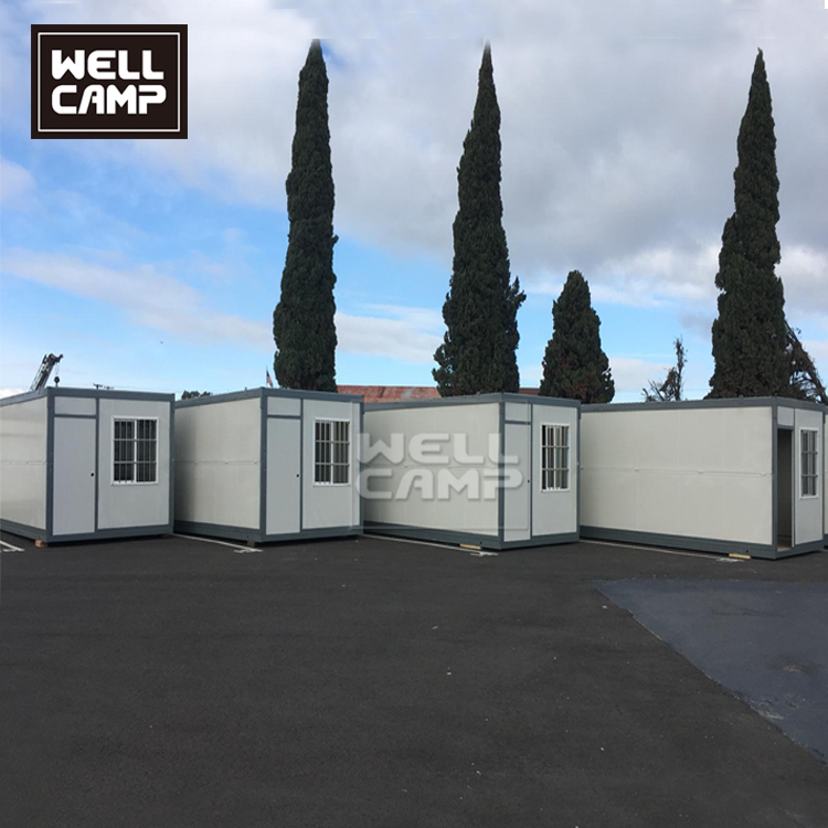 2019 Wellcamp Flat Pack Container House and Folding Container House in USA