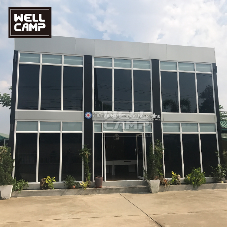 Two Floor Detachable Container Office in Thailand,Wellcamp-CV10