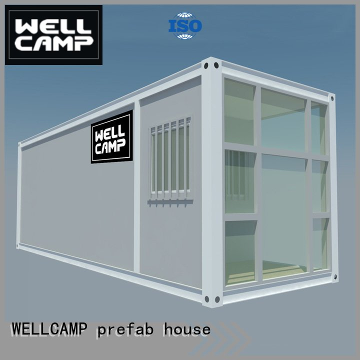 Custom wellcamp panel flat pack container house
