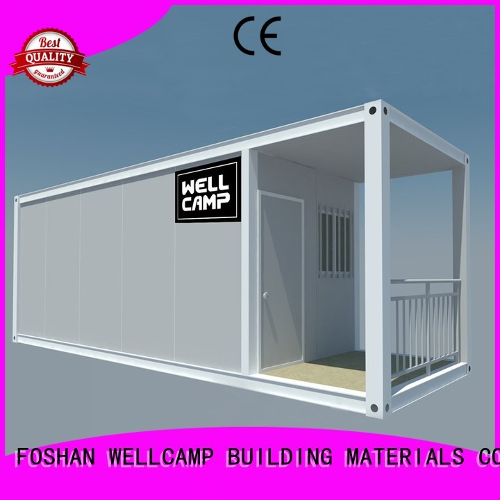 WELLCAMP, WELLCAMP prefab house, WELLCAMP container house Brand panel flat house flat pack container house manufacture