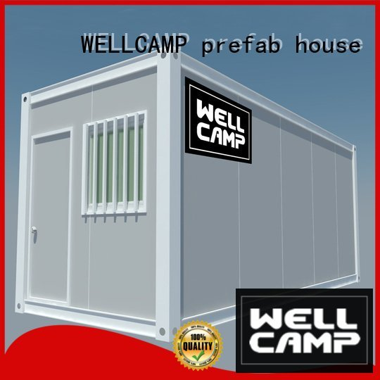 wool container WELLCAMP, WELLCAMP prefab house, WELLCAMP container house flat pack container house