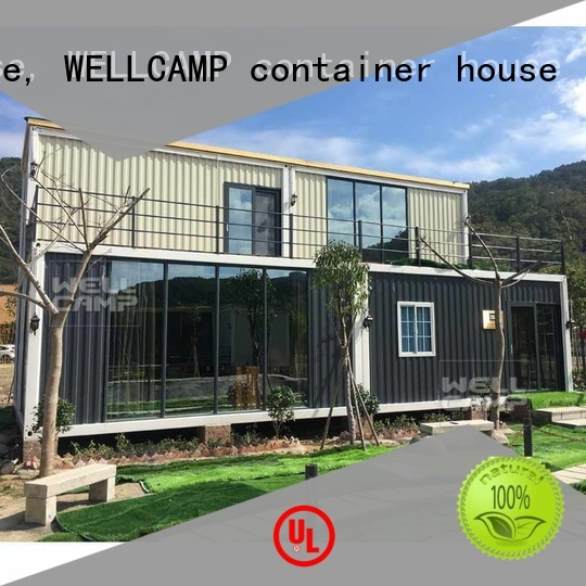 customized light steel villa folding low WELLCAMP, WELLCAMP prefab house, WELLCAMP container house Brand company