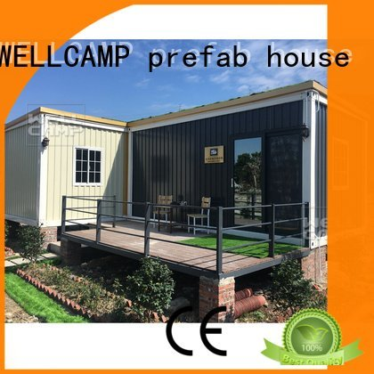 steel ecofriendly luxury living container villa suppliers container WELLCAMP, WELLCAMP prefab house, WELLCAMP container house