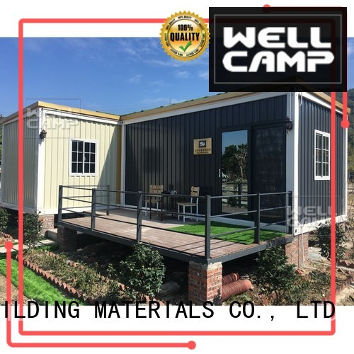 premade steel wellcamp c2 luxury living container villa suppliers WELLCAMP, WELLCAMP prefab house, WELLCAMP container house
