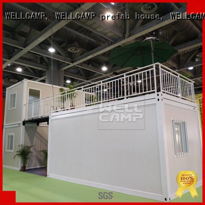 flat pack flat pack container house glass house WELLCAMP, WELLCAMP prefab house, WELLCAMP container house company