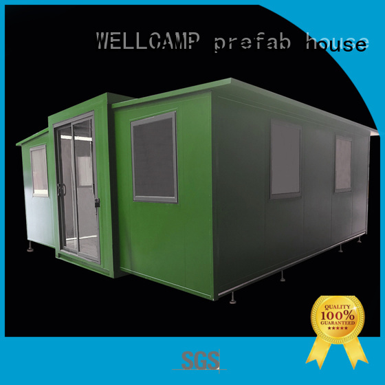 WELLCAMP, WELLCAMP prefab house, WELLCAMP container house Brand expandable shelter supplier