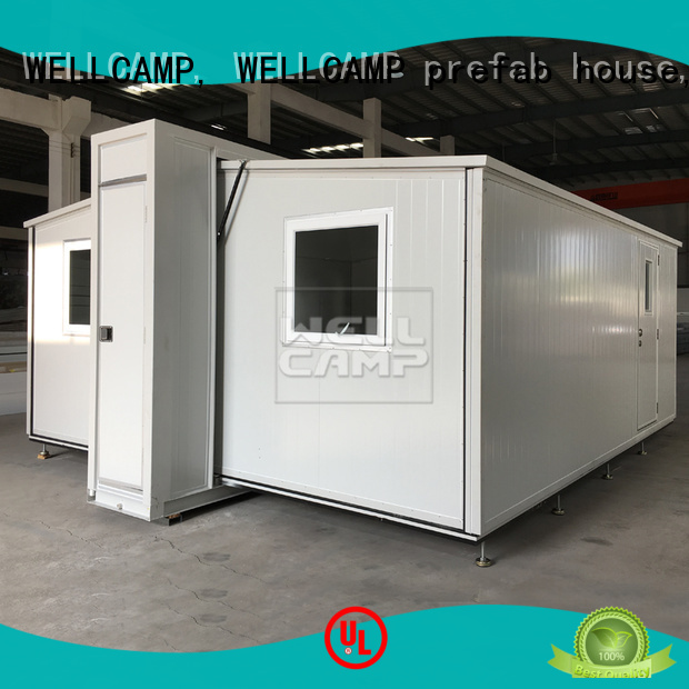 Hot expandable container house WELLCAMP, WELLCAMP prefab house, WELLCAMP container house Brand