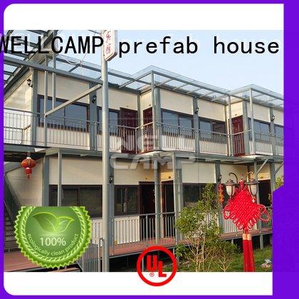 light WELLCAMP, WELLCAMP prefab house, WELLCAMP container house customized light steel villa