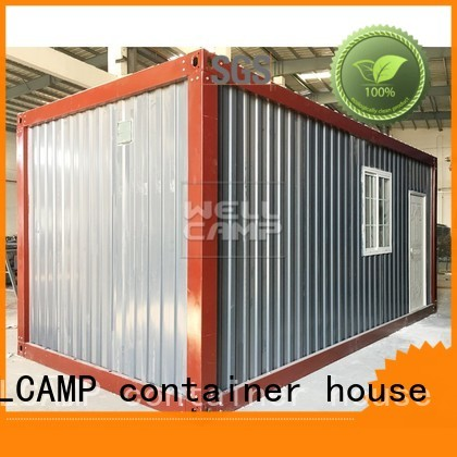 modern container house ripple prefab prefabricated WELLCAMP, WELLCAMP prefab house, WELLCAMP container house Brand detachable container house