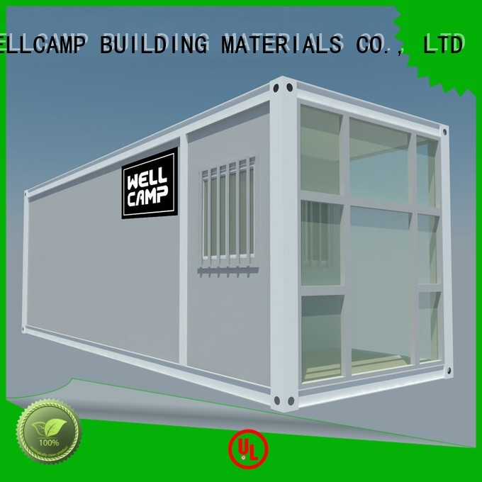WELLCAMP, WELLCAMP prefab house, WELLCAMP container house Brand wellcamp pack wool flat pack storage container